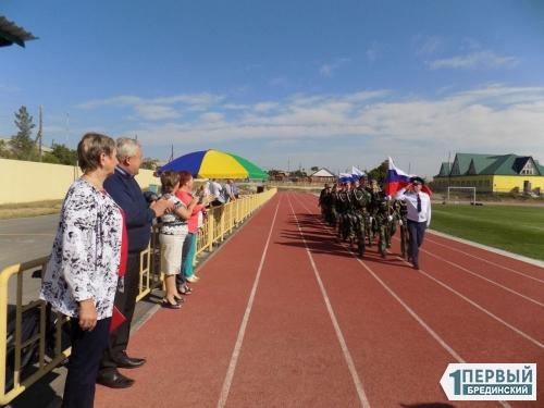 Символ единства и независимости. На стадионе «Колос» отметили День государственного флага