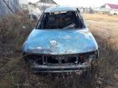 Неисправность ГБО. В Бредах сгорел автомобиль ВАЗ-2110